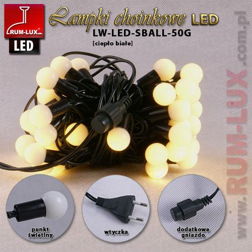 Lampki wew. kulki LW-LED-SBALL-50G CB